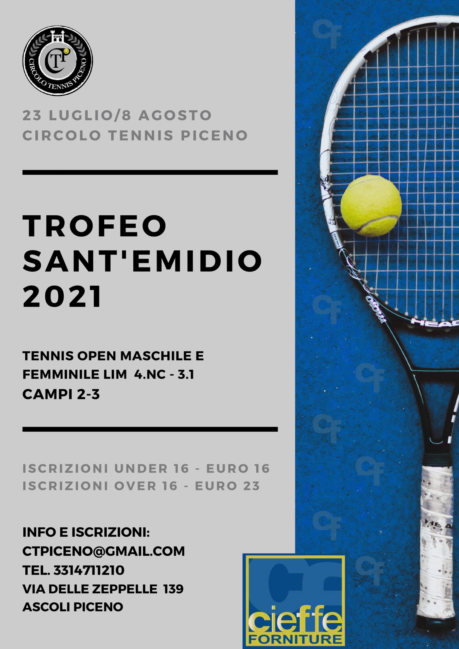 tROFEO SANT'EMIDIO 2021